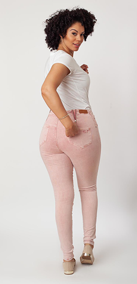 Small waist Curvy Fit Jeans for women