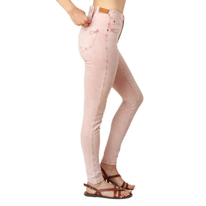 Dusty Pink Jeans Basic Signature Style - Ceniajeans