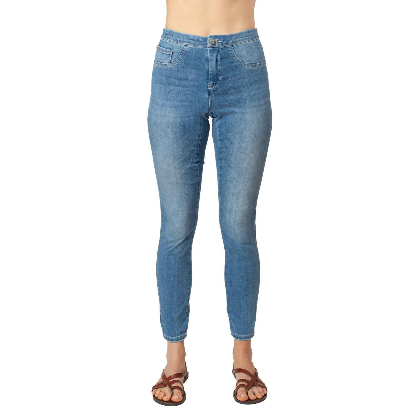 CCJ6006 LT Wash Blue Denim Basic Signature Style