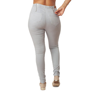 Light Grey Jeans Basic Signature Style - Ceniajeans