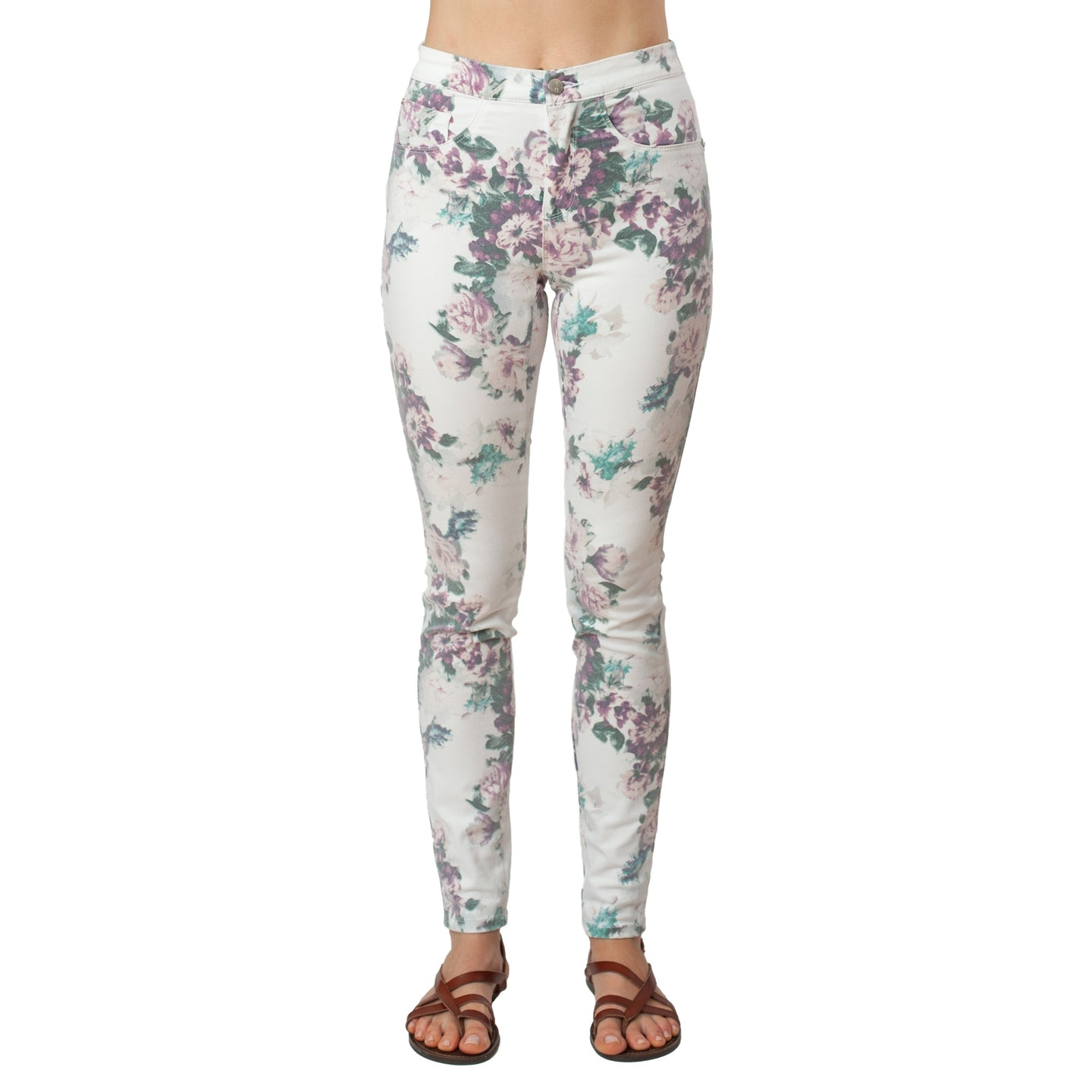 Printed Skinny Jeans Basic Signature Style - Ceniajeans