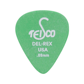 Del Rex Standard Guitar Pick, .88mm, 6-Pick Pack