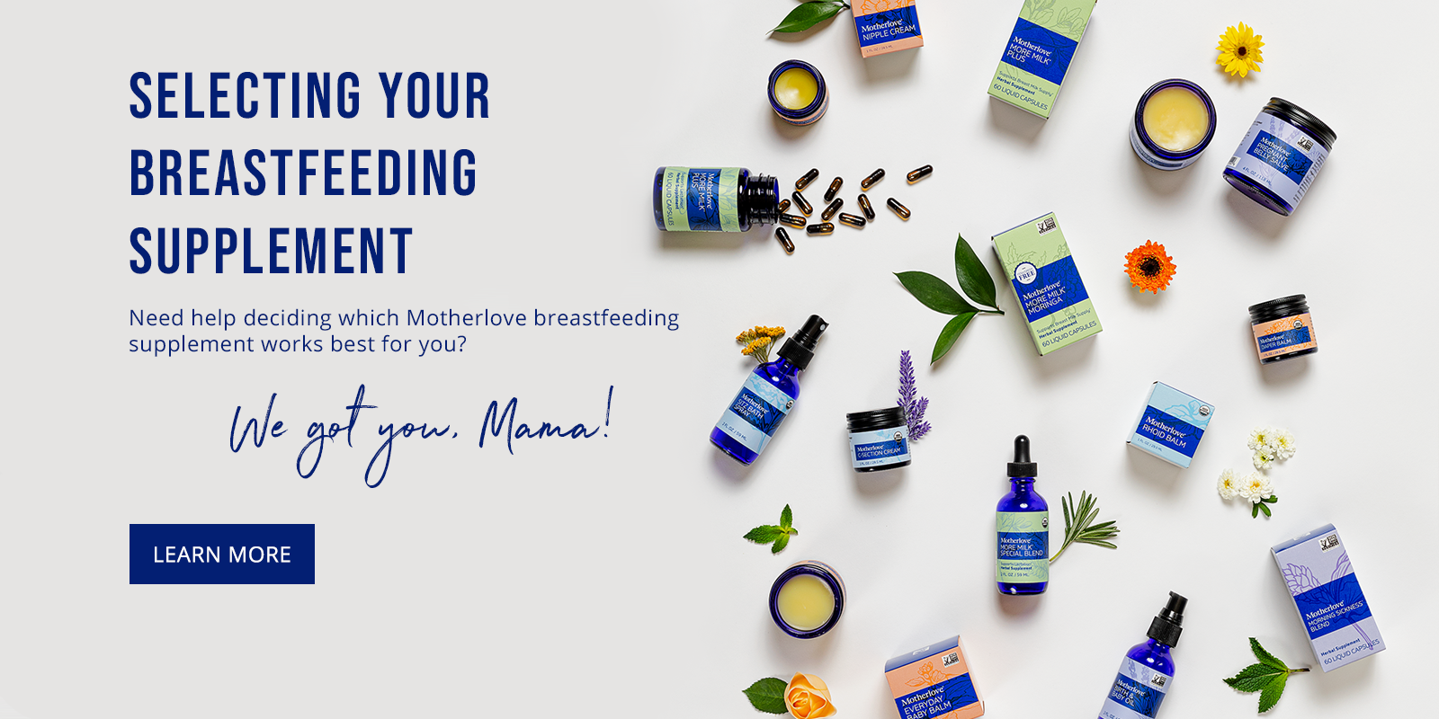 How to select your Motherlove breastfeeding supplement