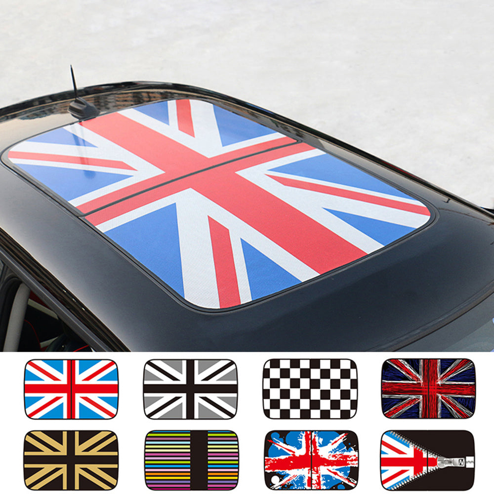 MINI Cooper Sunroof Graphics Decals For R55 R56 R57 R58 R59 R60 R61 - Tuned Motoring