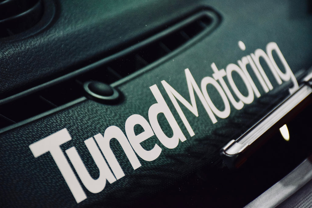 Tuned Motoring Banner Sticker - Tuned Motoring