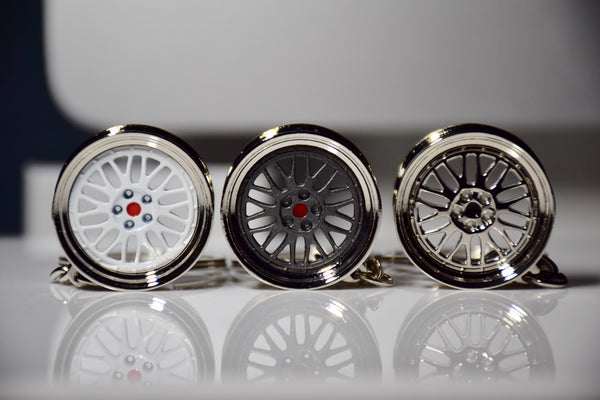 BBS LM Style Wheel Keychains - Tuned Motoring