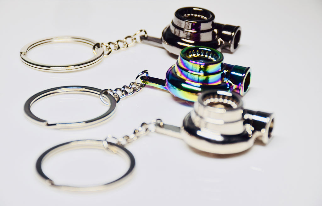 Turbo Keychains - Tuned Motoring