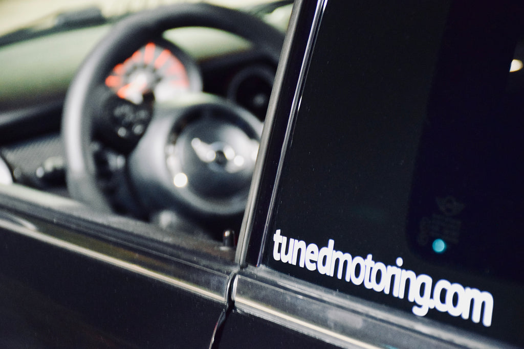 TunedMotoring.com Sticker - Tuned Motoring