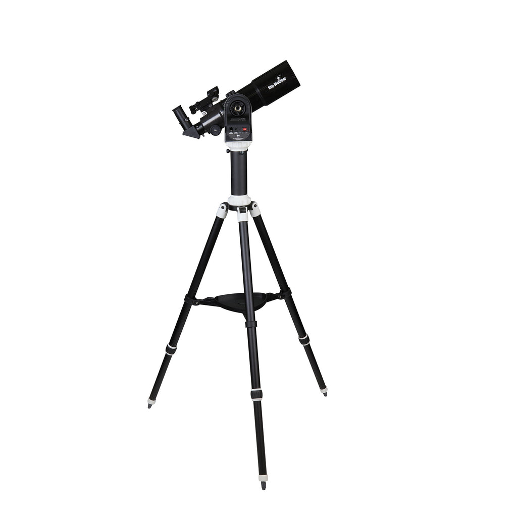 Eclipse Photography WiFi Enabled App Controlled SkyWatcher AZ-GTE with StarTravel 80 Refractor Modular Go-to Alt-Az Tracking Mount for Time-Lapse and Panoramas