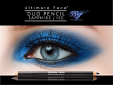 Pencil Duo- Sapphire and Ice