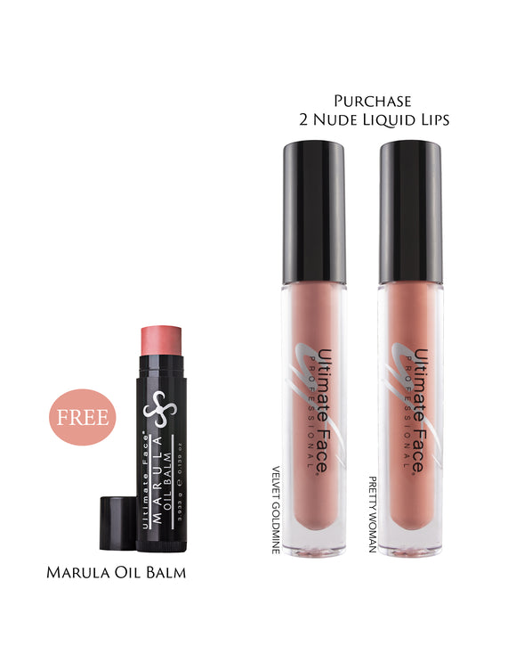 Mask Proof Lips! - Nude Collection
