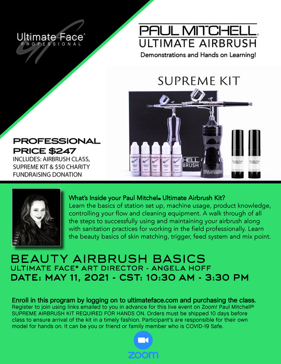 Beauty Airbrush Basics Funraising Class