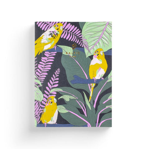 Jungle Budgies Notebook