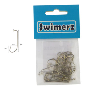 Swimerz 0/2 Offset Shank Jig Hook 25 Pack