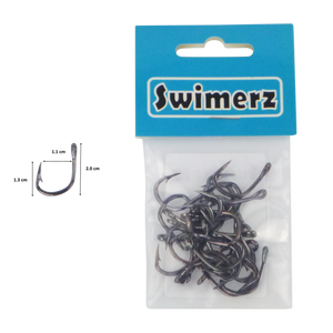 Swimerz 1/0 Heavy Duty Jigging Hooks 25 pack