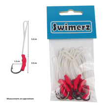 Load image into Gallery viewer, Swimerz 1/0 Single Assist Hooks, 10 pack