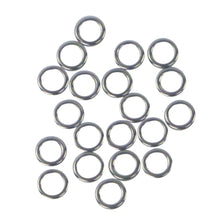 Load image into Gallery viewer, Swimerz Solid Jigging Rings, 11mm, 20 pack