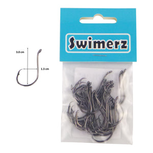 Swimerz 3/0 Octopus Circle Hooks, 25 pack