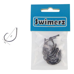 Swimerz 3/0 Inline Circle Hook 15 pack