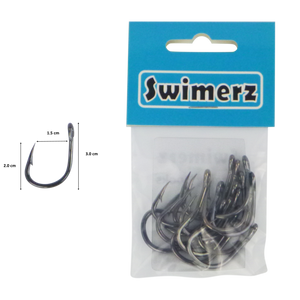 Swimerz 3/0 Heavy Duty Jigging Hooks 15 pack