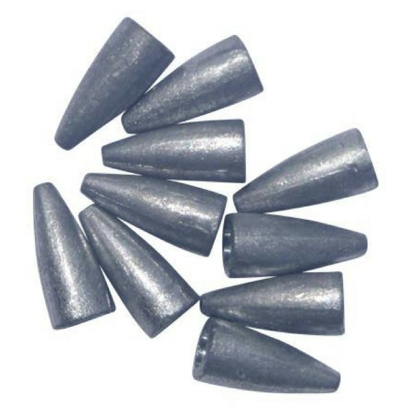 Smooth bore Texas Rig Sinkers