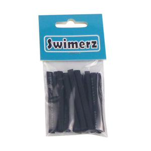 Swimerz Assist Hook Sleeves, Black, 50mmL X 3mmD, Qty 15