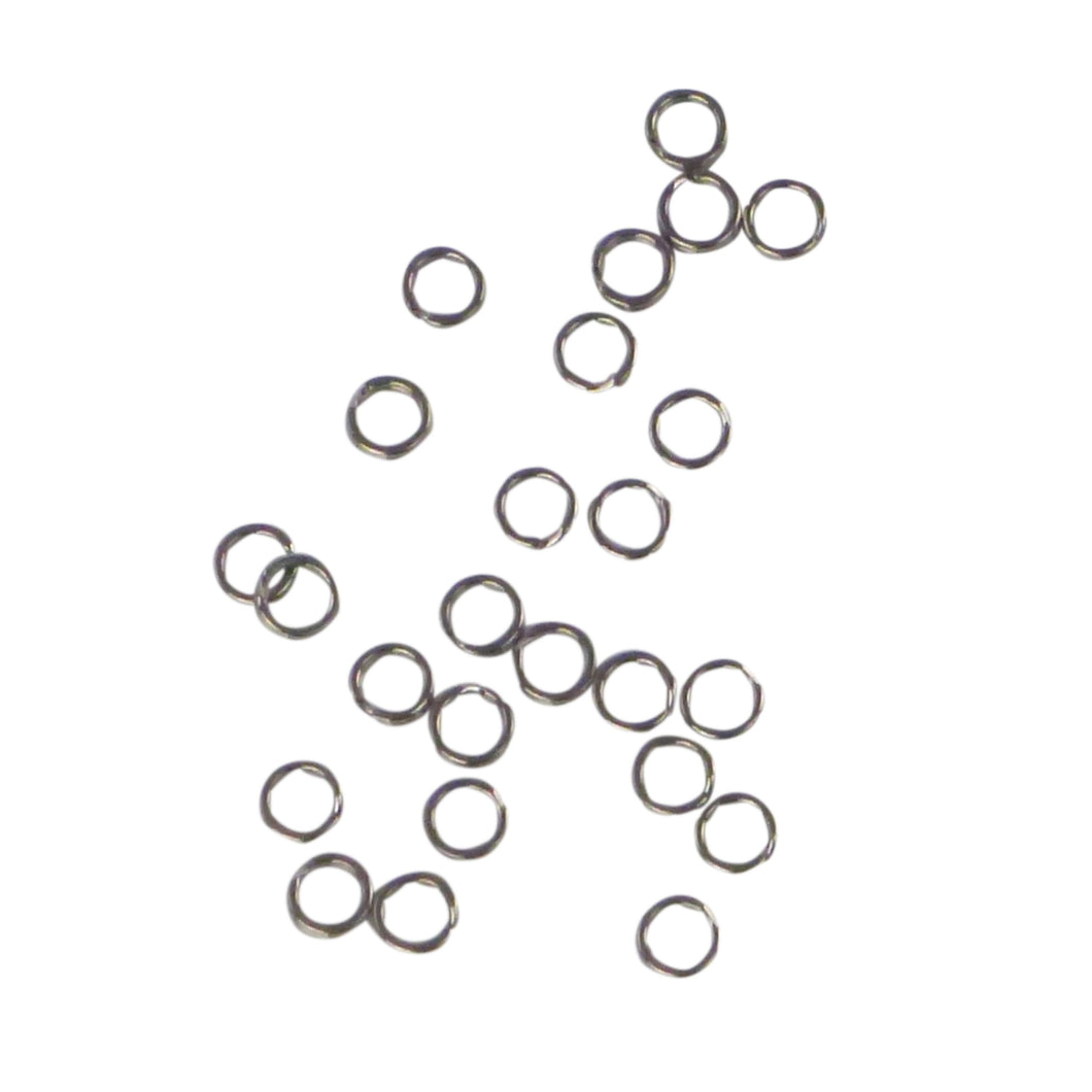 Swimerz 6mm Split Ring Stainless Steel, 25 Pack