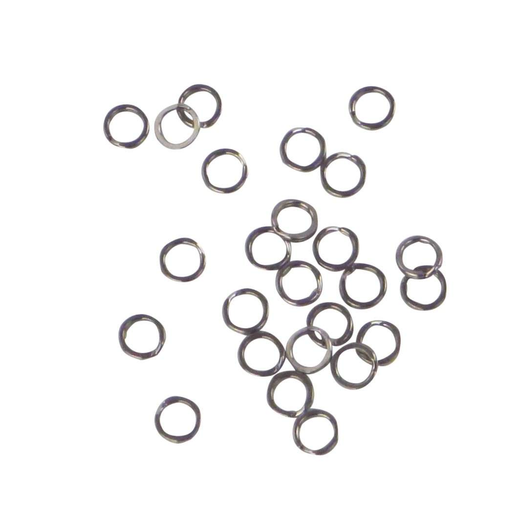 Swimerz 7mm Split Ring Stainless Steel, 25 Pack