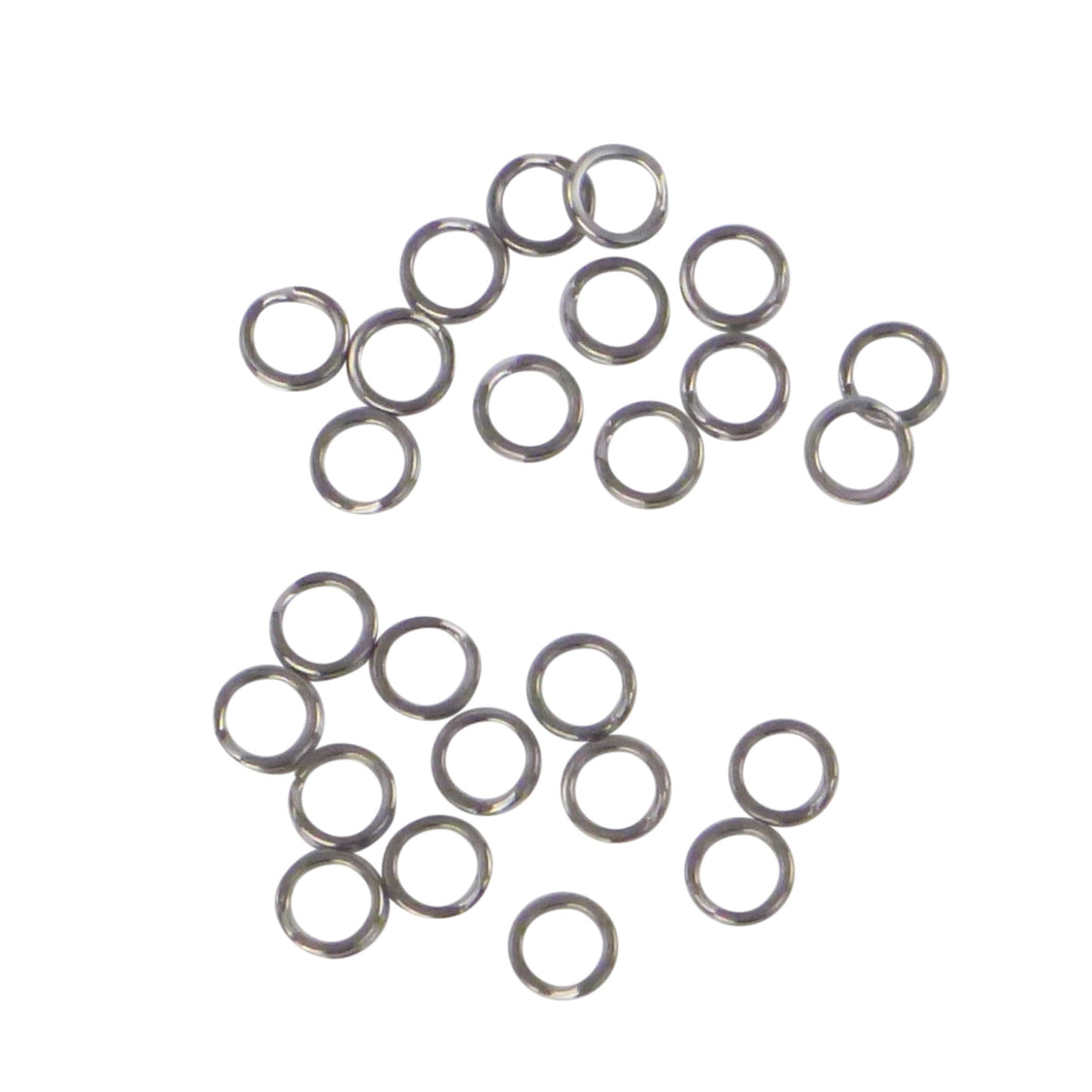 Swimerz 8mm Split Ring Stainless Steel, 25 Pack