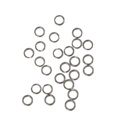 Swimerz 9mm Split Ring Stainless Steel, 25 Pack