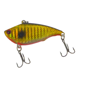 Finesse 'Excaliber' Lipless Crankbait, 55mm, Gold