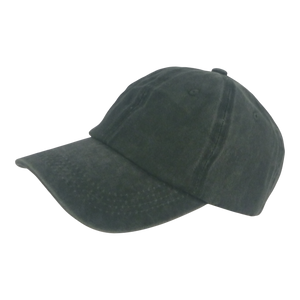 BSTC 6-Panel Baseball Cap, Distressed Cotton, Green