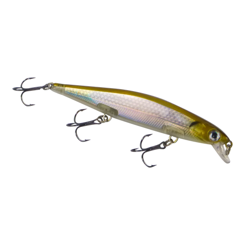 Finesse 'Chudan' 110mm Sinking/Diving Minnow, Silver Gold