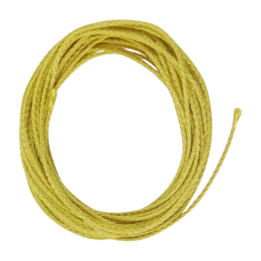 Swimerz Braided Kevlar, Yellow 45kg, 7.5 mtrs