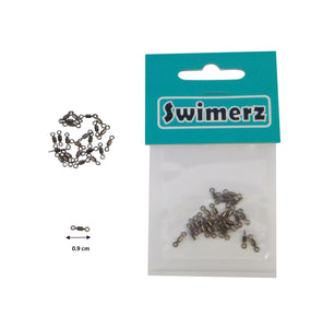 Swimerz Size 10 Rolling Swivels, 25 pack