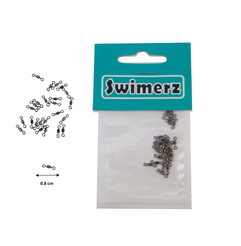 Swimerz Size 12 Rolling Swivels, 25 pack