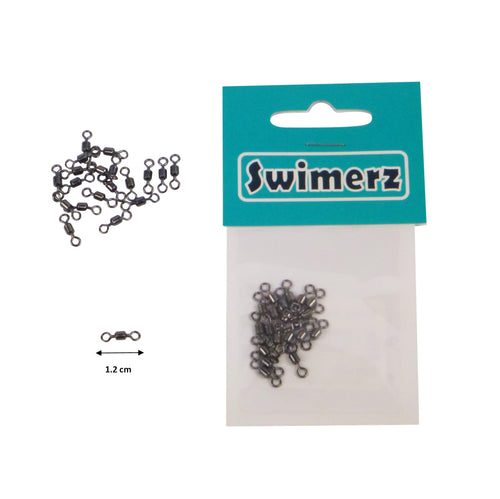 Swimerz Size 6 Rolling Swivels, 20 pack