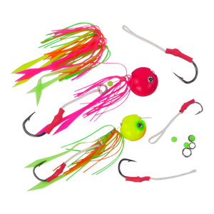 Finesse Kabura Jig Assist Skirts, 3 Pack