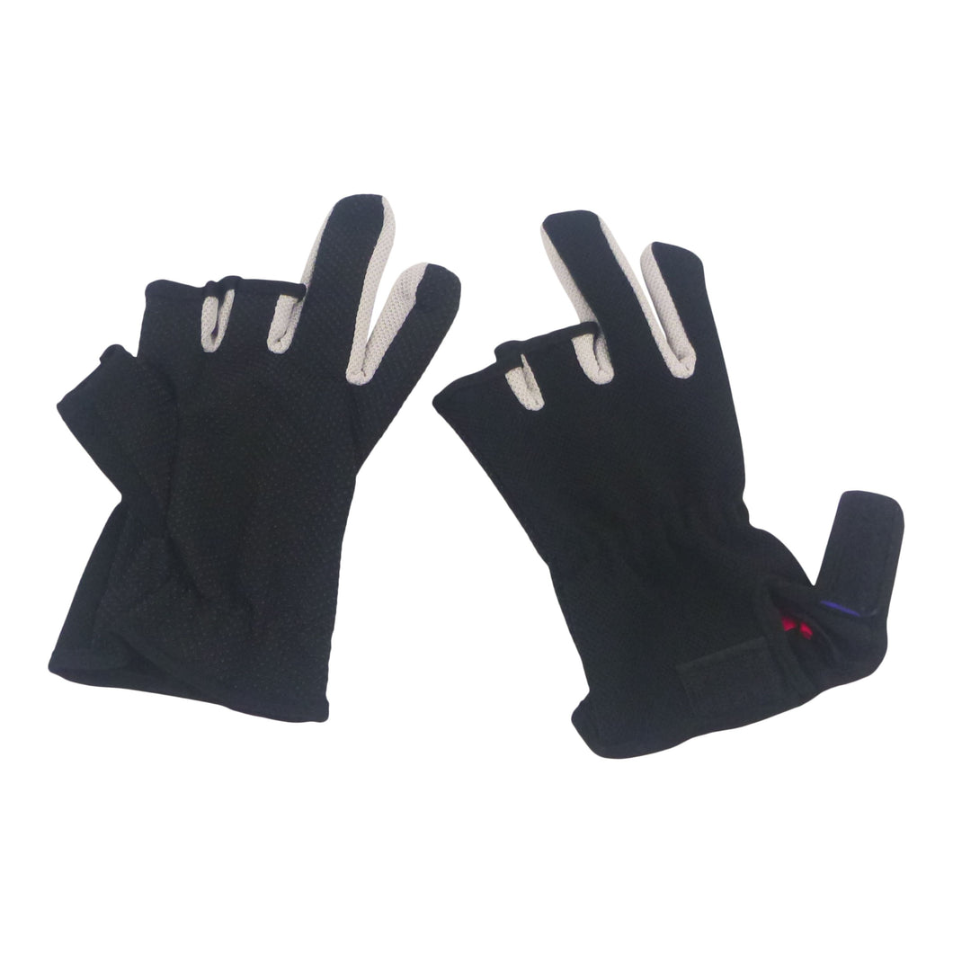 BSTC 3 Finger Gloves, Black