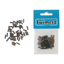 Load image into Gallery viewer, Swimerz 1.2mm Copper Double Crimp, 50 pack