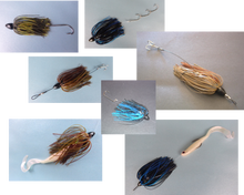 Load image into Gallery viewer, Vike 3/4 oz Skirted Microjig in Candy Craw