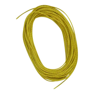 Swimerz Twisted Kevlar, Yellow 30kg, 7.5 mtrs