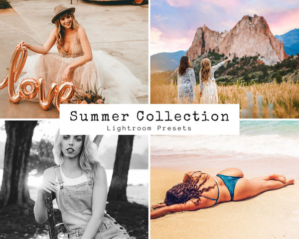 Summer Collection: Vibrant, Rich, and Colorful