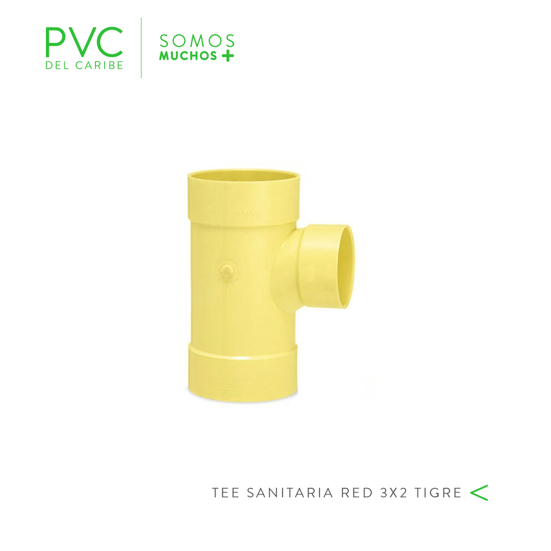 TEE SANITARIA RED 3 X 2 TIGRE