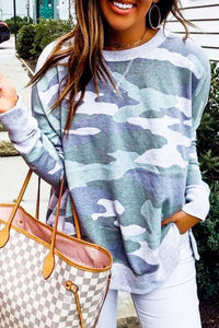 Casual Camo Top