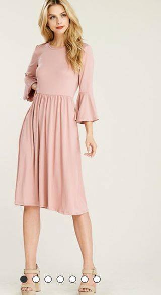 Greatest Love Blush Dress