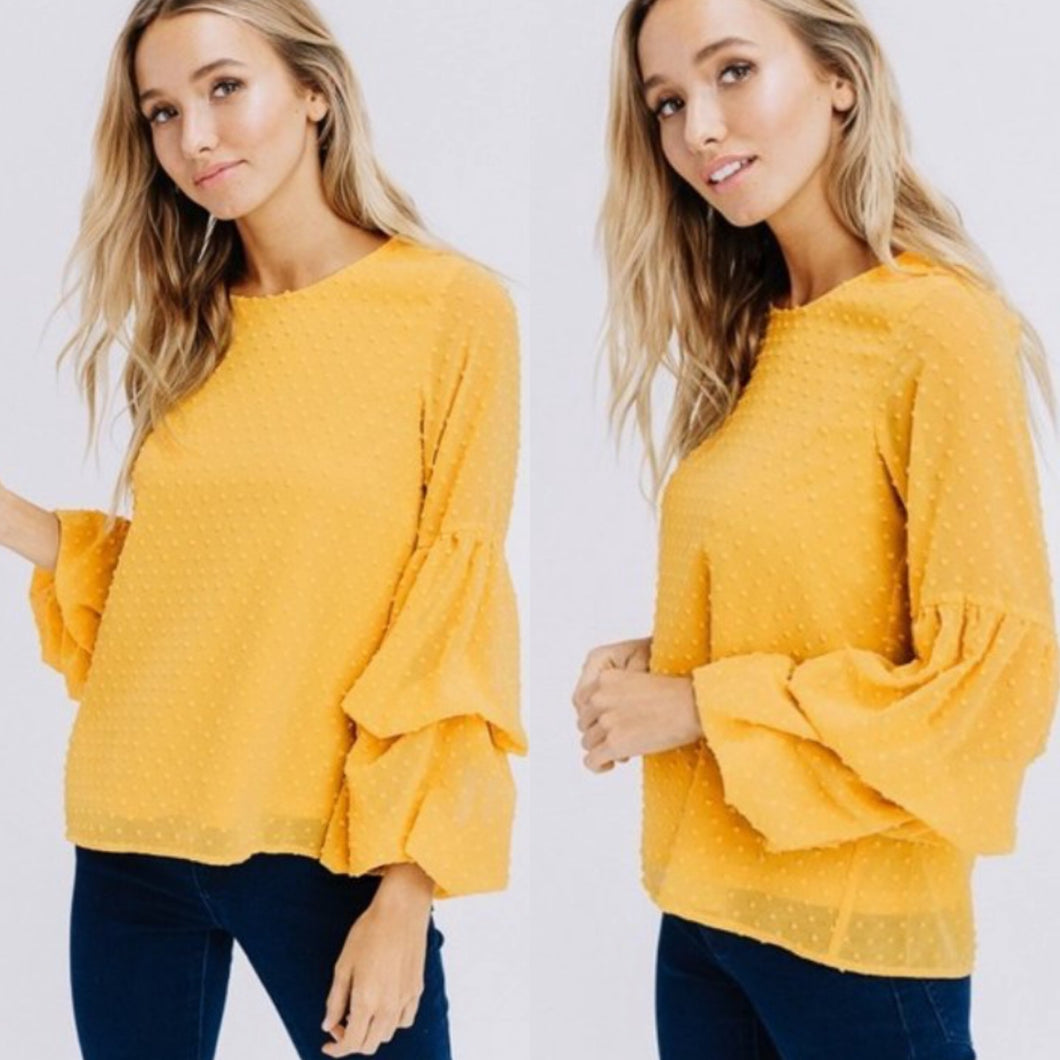 Stay with me mustard top
