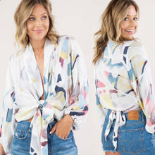 Load image into Gallery viewer, Boho chic wrap top