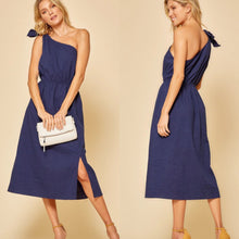 Load image into Gallery viewer, Blue lagoon midi dress