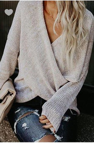 Criss Cross Sweater